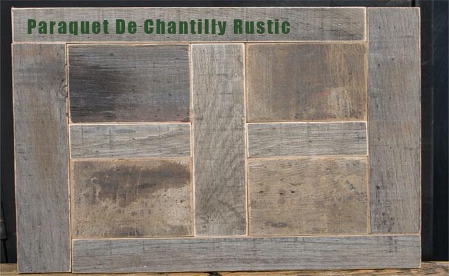 Reclaimed Parquet Flooring Panels